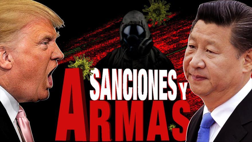 Detrás de la Razón: Prepara presidente estadounidense castigo contra el Gobierno chino, lo acusa del virus