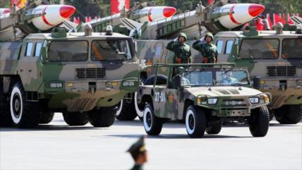 'China debe estar lista para una confrontación militar con EEUU'