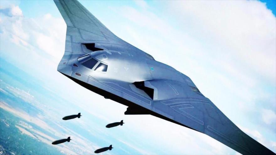 Imagen ilustrativa del bombardero estratégico Xian H-20 que está desarrollando China.