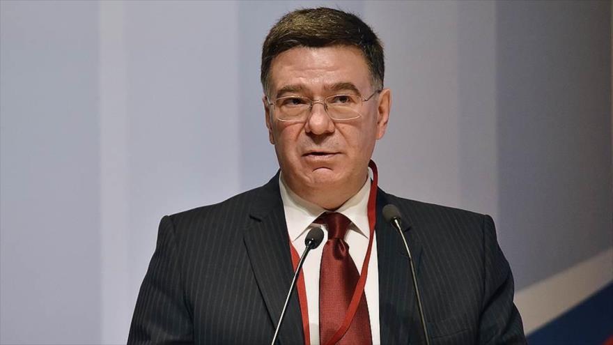 El viceministro de Relaciones Exteriores de Rusia, Alexander Pankin.