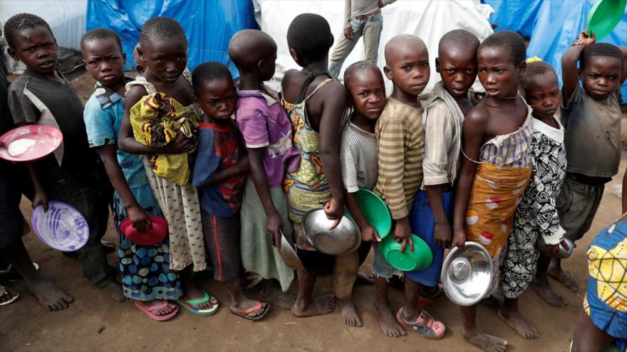 Unicef registra cifra récord de niños desplazados en 2019