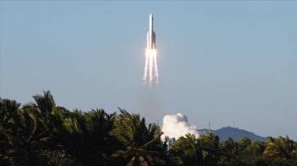 Vídeo: China lanza nuevo cohete para programa de estación espacial