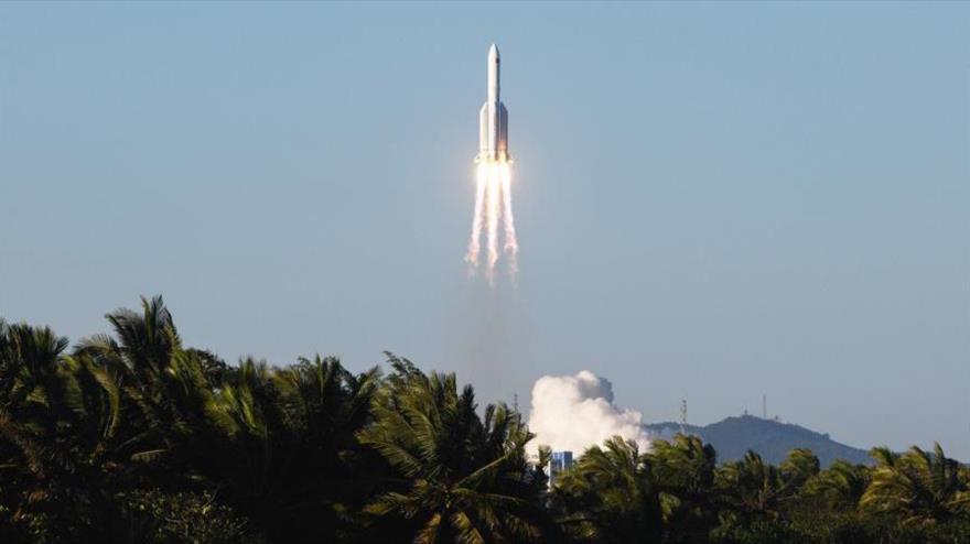Vídeo: China lanza nuevo cohete para programa de estación espacial | HISPANTV