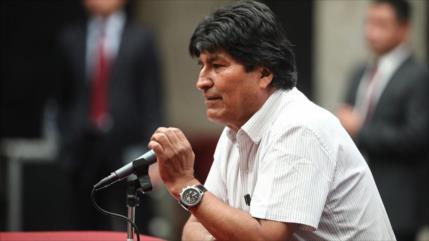 Morales acusa a Áñez de sacar provecho electoral de COVID-19