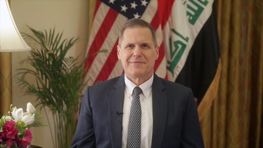 Matthew H. Tueller, embajador de EE.UU. en Irak.