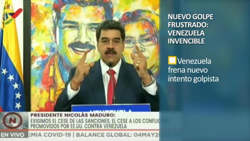 PoliMedios: Nuevo golpe frustrado; Venezuela invencible