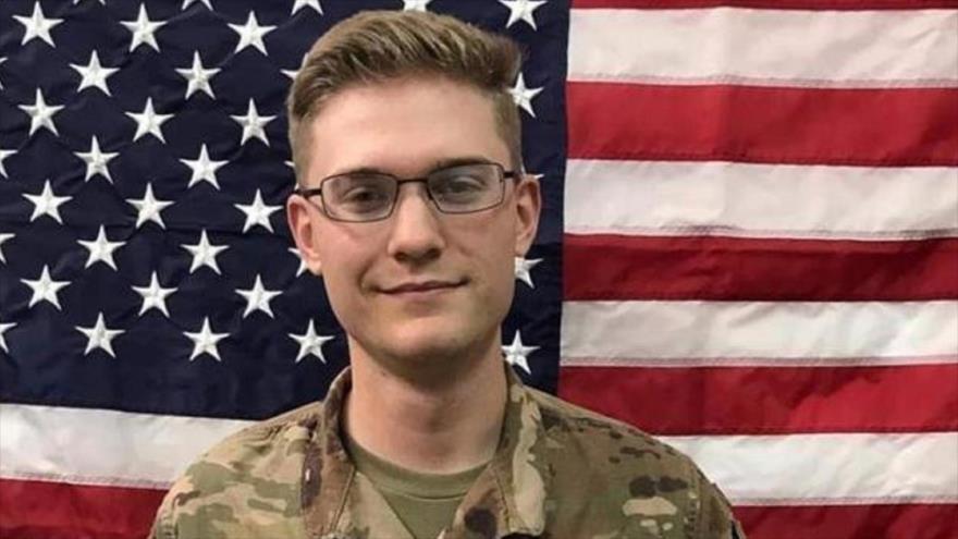 Christopher Wesley Curry, un soldado estadounidense que murió en Irak.