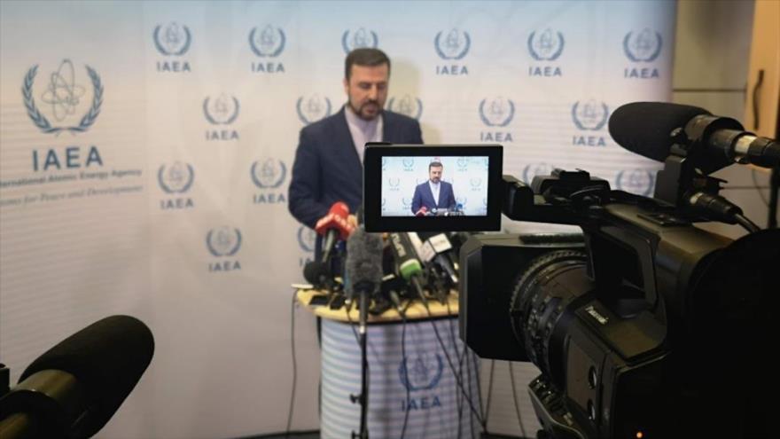 Kazem Qaribabadi, representante de Irán ante la Agencia Internacional de Energía Atómica (AIEA) en Viena, capital austriaca.