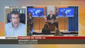 """""""Trump acusa a China para disimular su pésima gestión de COVID-19"""""""