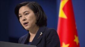 Pekín: El enemigo que EEUU se enfrenta es COVID-19 y no China