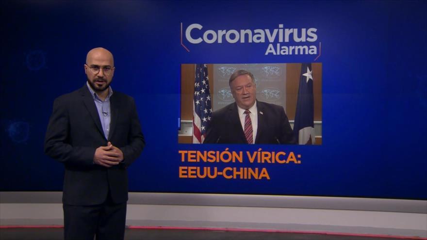"""Coronavirus Alarma: Tensión vírica; EEUU-China. Inseguridad alimentaria en EEUU. """"infodemia"""" en México. Desempleo en La India"""