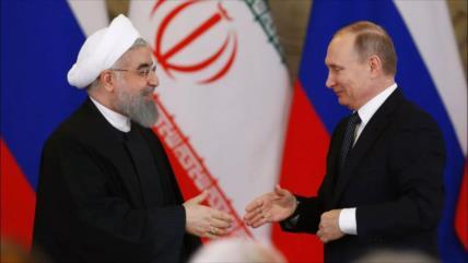 Irán y Rusia acuerdan reforzar aún más sus relaciones bilaterales