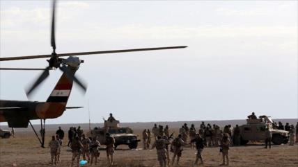 Video: Helicóptero iraquí ataca a terroristas de Daesh en Al-Anbar