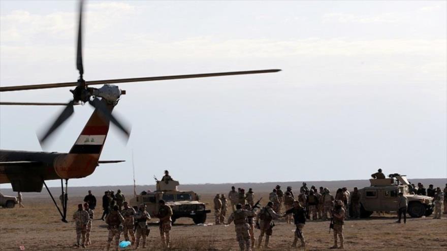 Video: Helicóptero iraquí ataca a terroristas de Daesh en Al-Anbar | HISPANTV