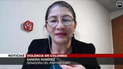 Ramírez: Hay pandemia de exterminio a líderes sociales en Colombia