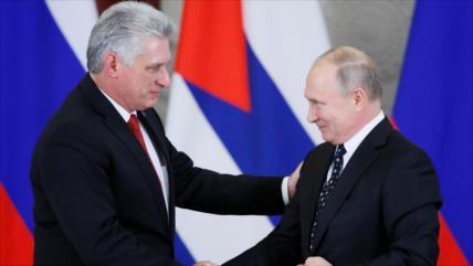 """Rusia y Cuba acuerdan profundizar aún más sus """"excelentes"""" lazos"""