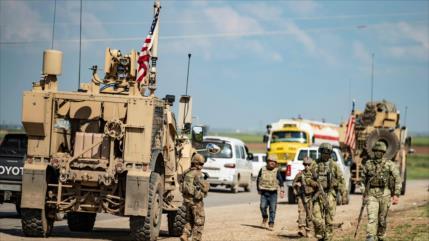 EEUU expande su base militar en un campo petrolero en Siria