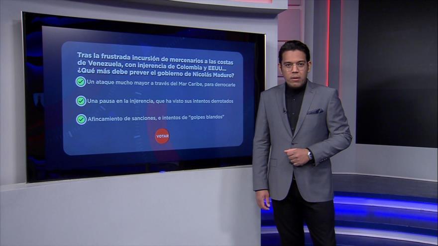 Recuento: Venezuela frustra incursión mercenaria