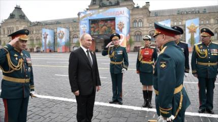 Putin: La modernización de las Fuerzas Armadas rusas continuará