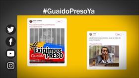 Etiquetaje: Venezolanos piden encarcelamiento de Guaidó