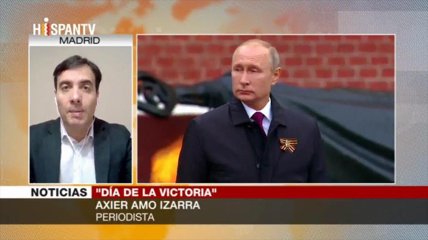Amo Izarra: Putin pide unión del país ante la COVID-19
