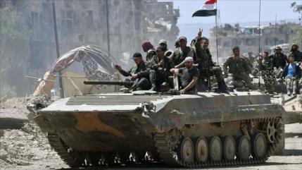 Ejército sirio logra victoria importante ante terroristas en Daraa