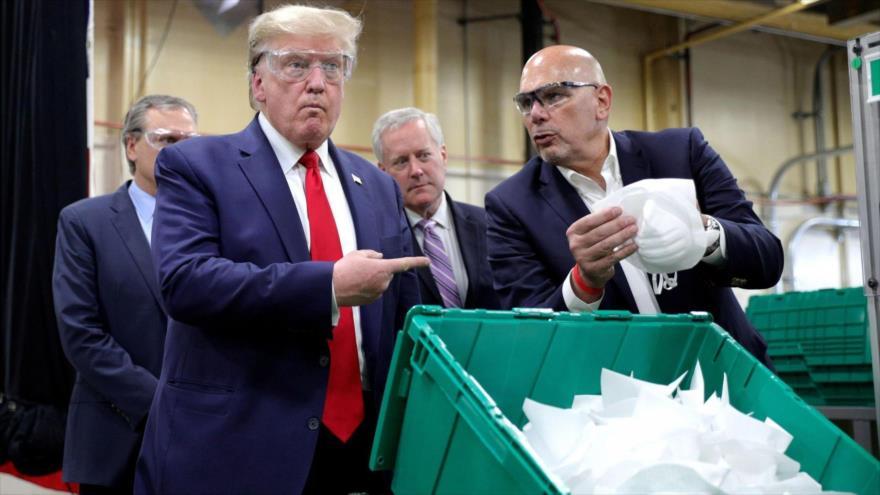 Trump rechazó oferta para producir mascarillas y llegó la crisis   HISPANTV