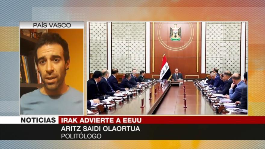 Saidi: EEUU desestabiliza a Irak si Al-Kazemi no acata sus ordenes | HISPANTV