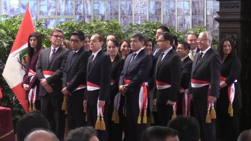 Primer ministro peruano solicitará confianza al Congreso