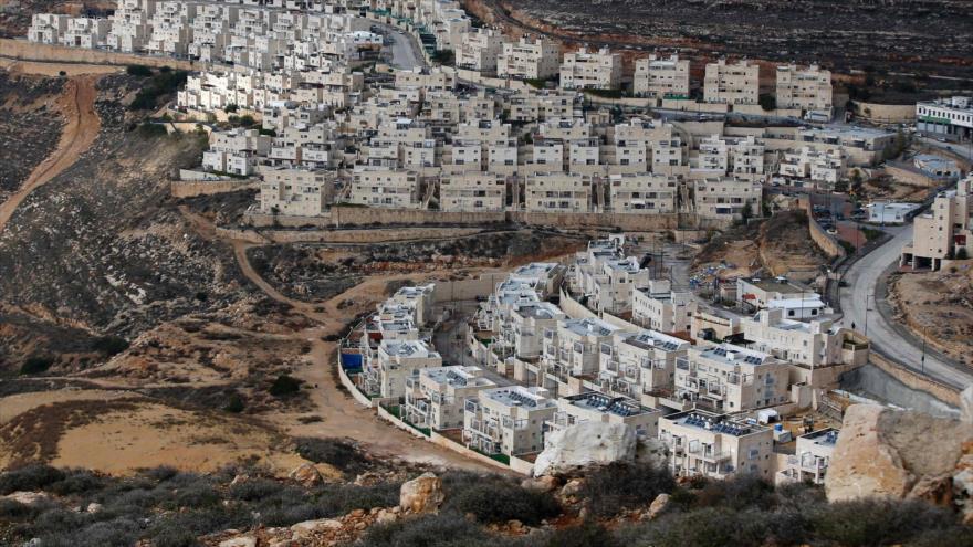 Asentamientos ilegales isaelíes en la ocupada Cisjordania, 28 de diciembre de 2016. (Foto: AFP)