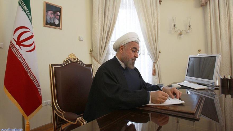 El presidente de la República Islámica de Irán, Hasan Rohani.