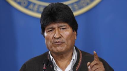 Evo Morales denuncia retrocesos de Bolivia tras golpe de Estado