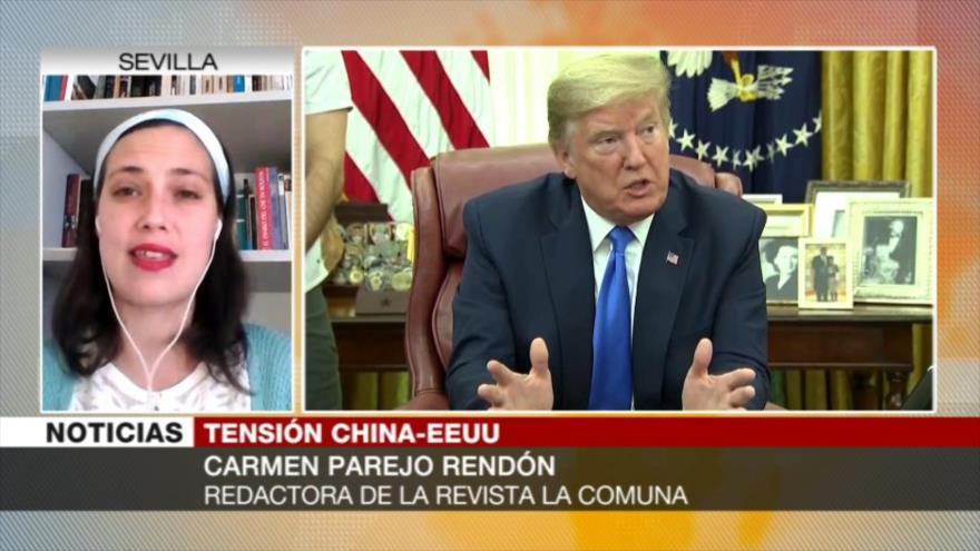 Rendón: EEUU trata de aislar a China vetando a sus periodistas | HISPANTV