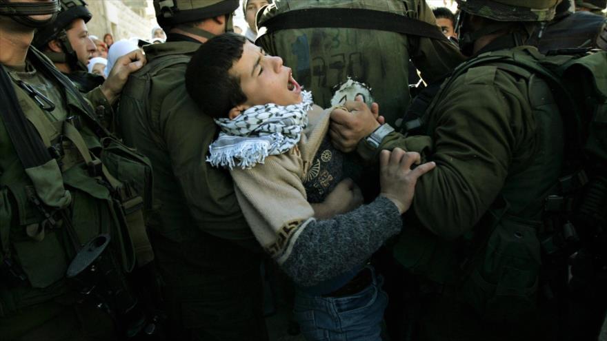 Unicef pide liberación de niños palestinos detenidos por Israel | HISPANTV