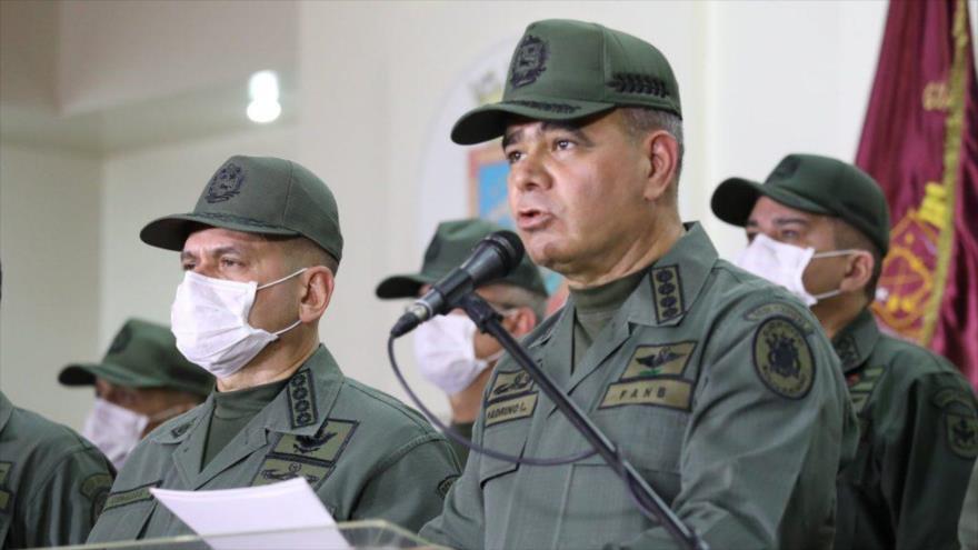 El ministro venezolano de Defensa, Vladimir Padrino López.