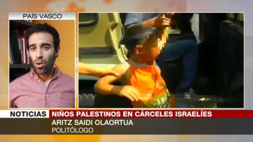"""Israel recurre a falsa propaganda para detener a niños palestinos"" | HISPANTV"