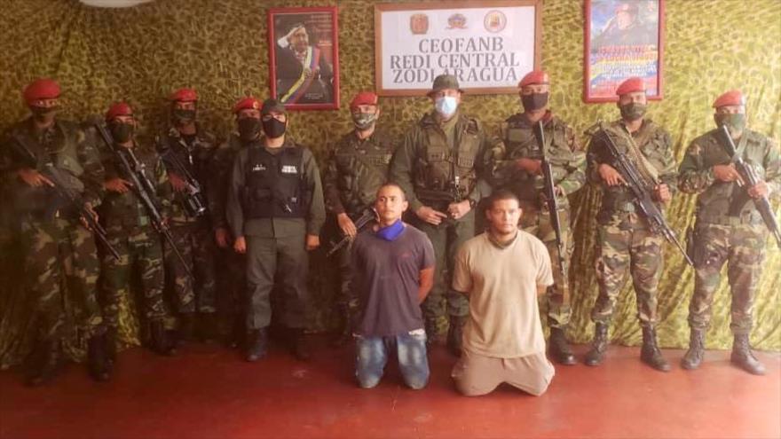 La Fuerza Armada Nacional Bolivariana de Venezuela captura a otros dos mercenarios implicados en la incursión a Venezuela.