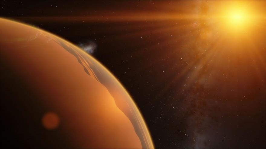 Encuentran un planeta similar a la Tierra a casi 25 000 años luz.