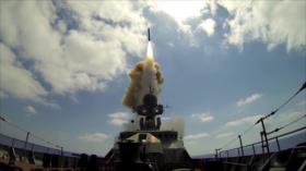 Rusia destruye objetivos enemigos en simulacros frente a costa siria