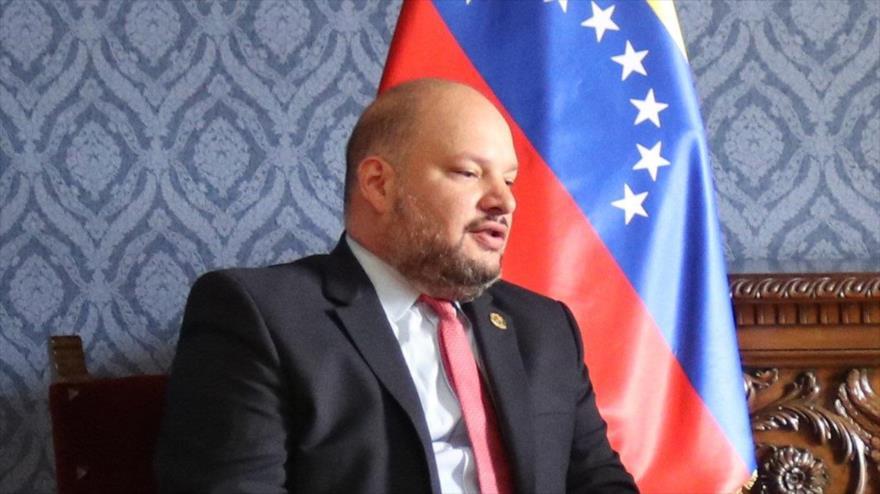 El vicecanciller de Venezuela para América del Norte, Carlos Ron.