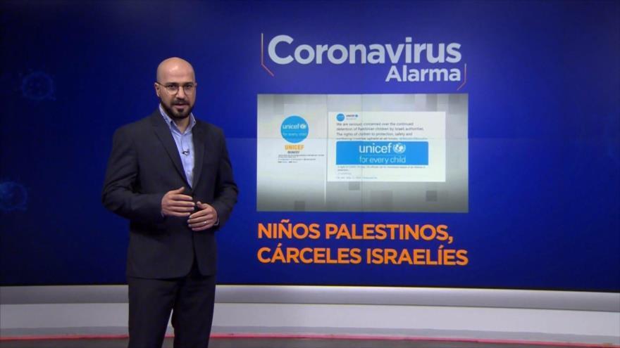 Coronavirus Alarma: Unicef pide liberación de los niños detenidos por Israel durante la crisis de COVID-19