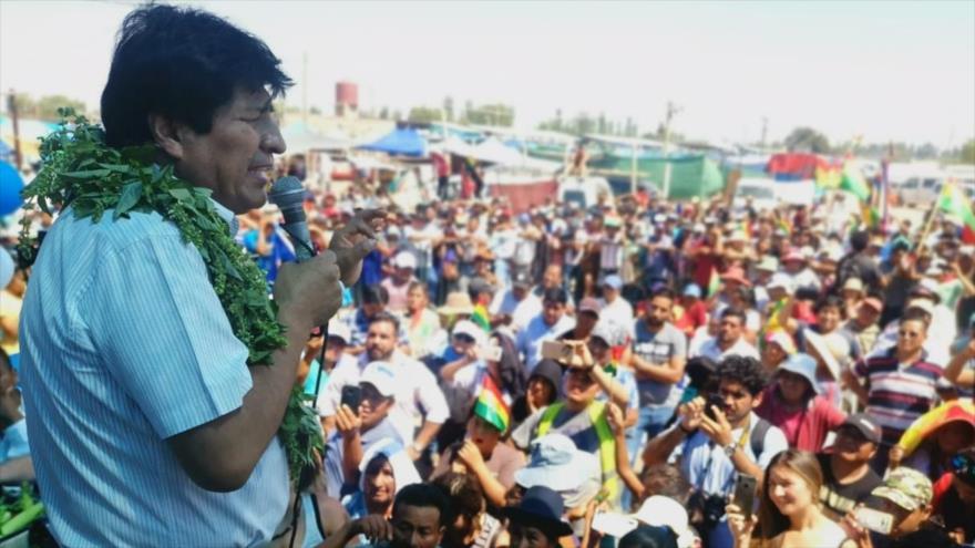 El MAS rechaza acusaciones del gobierno de facto contra Morales