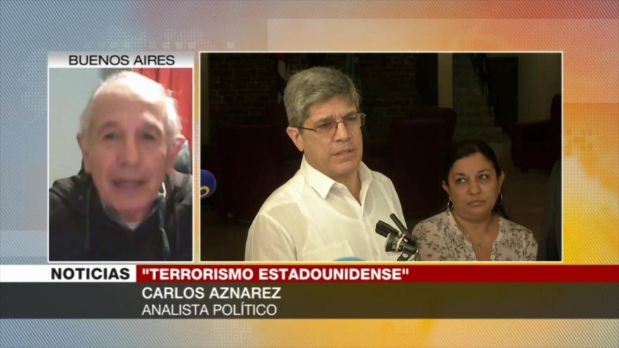 Aznarez: Trump está enojado con Cuba porque enfrenta sus tropelías