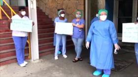 Aumentan contagios de COVID-19 en empleados de Salud de Honduras
