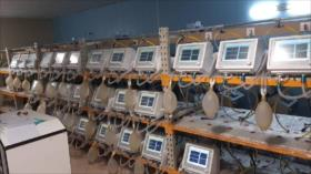 Empresa iraní produce cada 45 minutos un ventilador para COVID-19