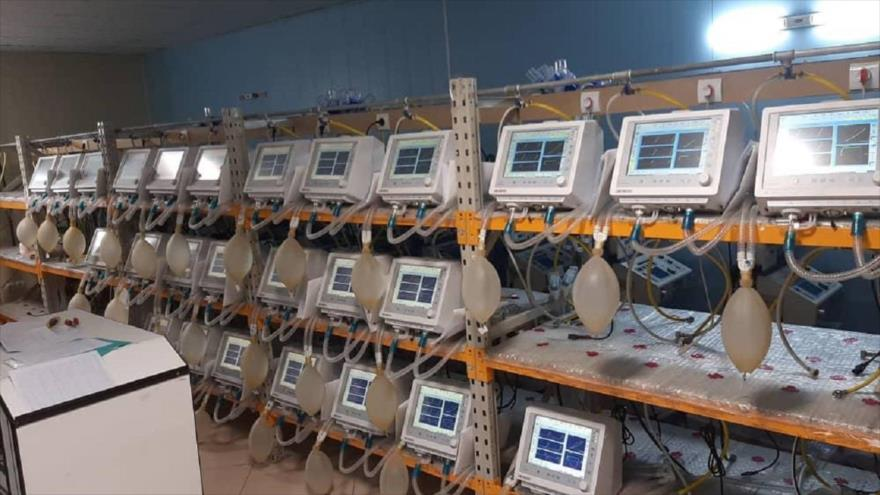 Ventiladores fabricados por la empresa iraní Danesh Bonian.