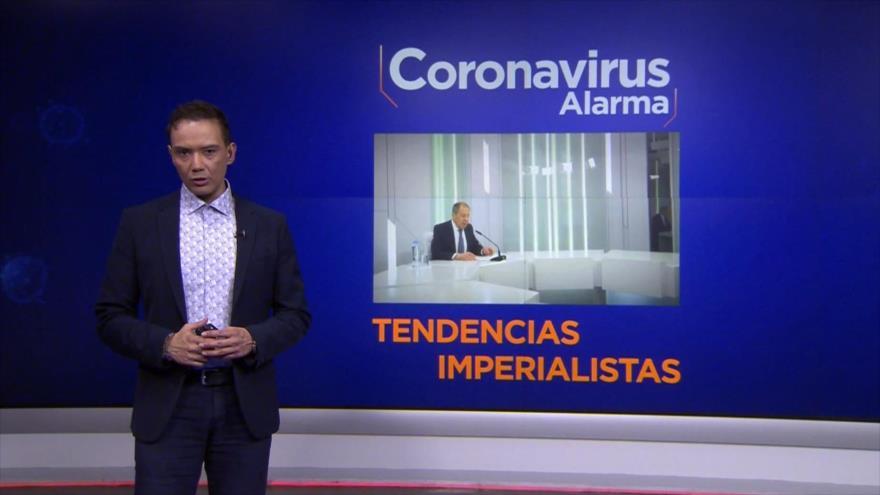 """Coronavirus Alarma: Lavrov denuncia presiones de EEUU a países """"independientes"""" en medio de COVID-19"""