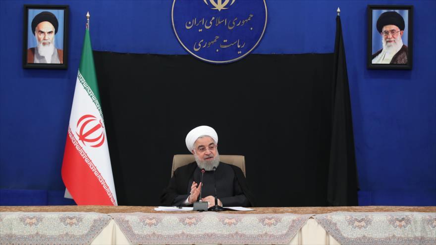 Rohani: Sanciones de EEUU contra Irán violan los derechos humanos | HISPANTV