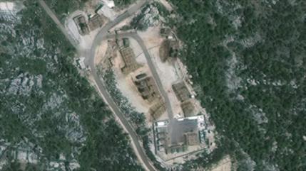 Imágenes de satélite: Siria coloca sus S-300 en posición de combate