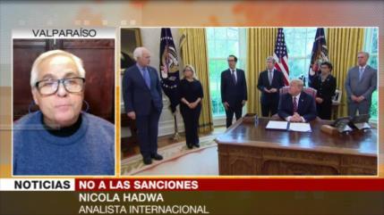 Hadwa: Sanciones son un bloqueo a la decencia del mundo